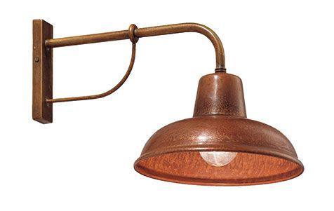 Applique Contrada 243 05 Copper Wall Light Wall Lights Copper Lighting