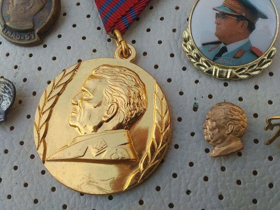 e08e83d11b8d Josip Broz Tito Medal and pins SFRJ Yugoslavia Communist Vintage Pins Badges