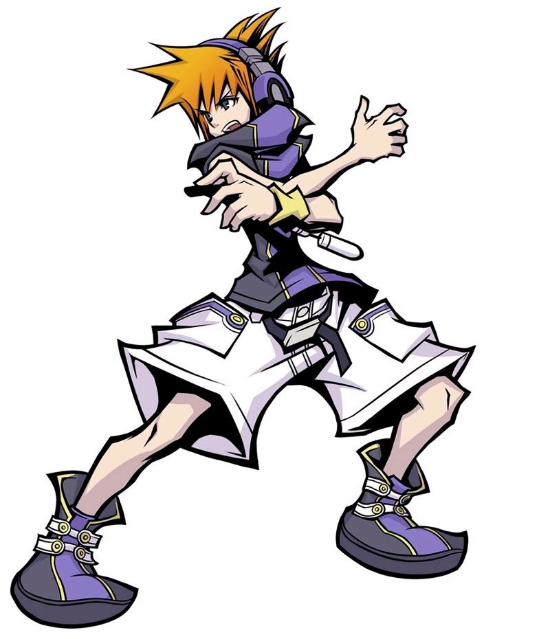 The World Ends With You Twewy Photo The World Ends With You Character Art Character Design End Of The World