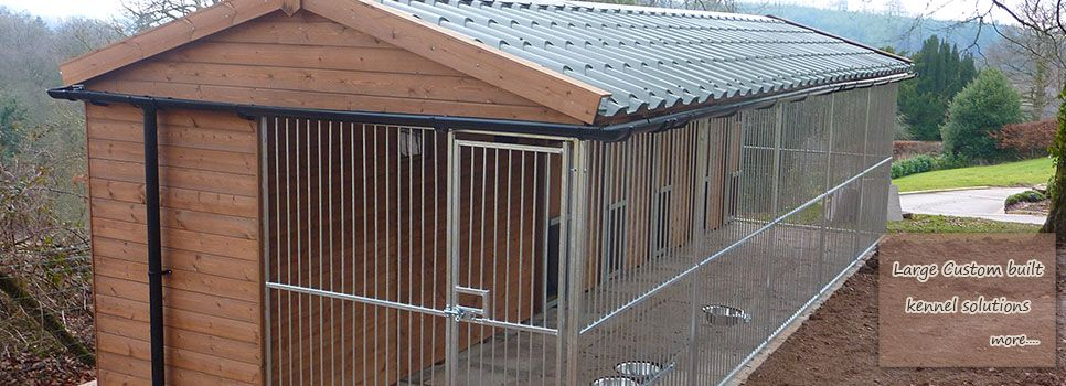 Custom Dog Runs Large Custom Dog Kennels And Runs Manufactured By Timberbuild Dog Dog Kennel And Run Custom Dog Kennel Dog Kennel