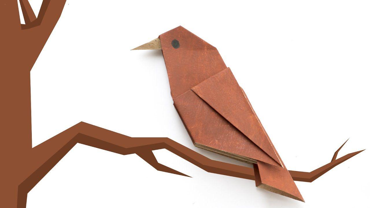 origami vogel einfache origami für anfänger  鳥 折り紙 折り紙