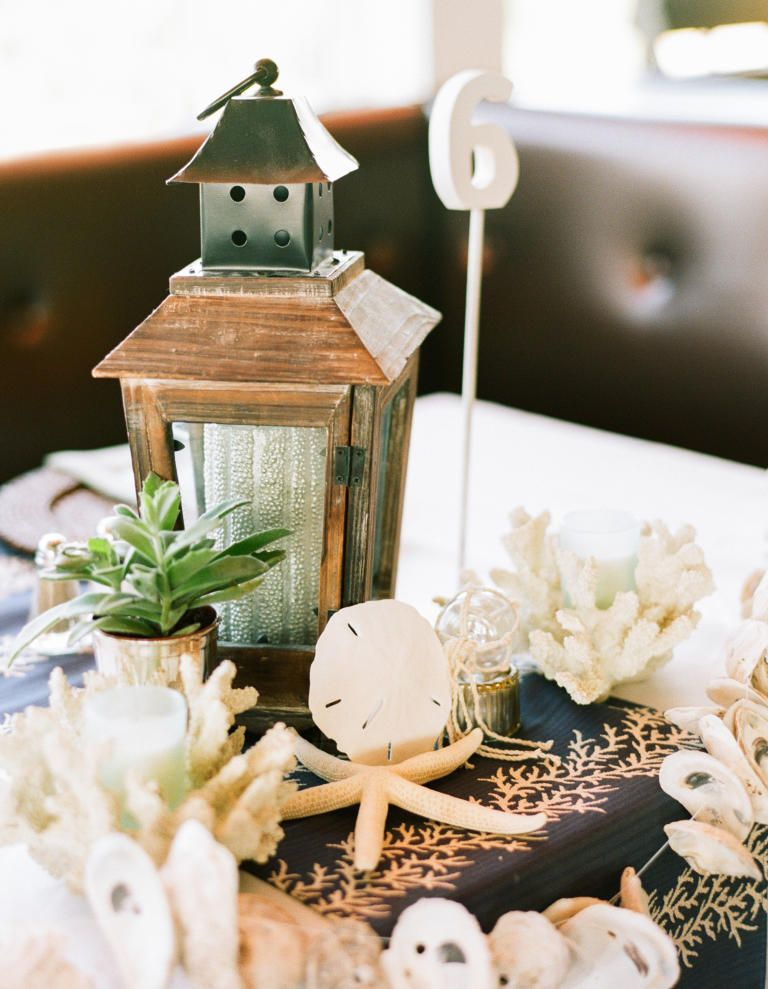 10 Nonfloral Wedding Centerpiece Ideas 6 Coral And Seashell Centerpieces