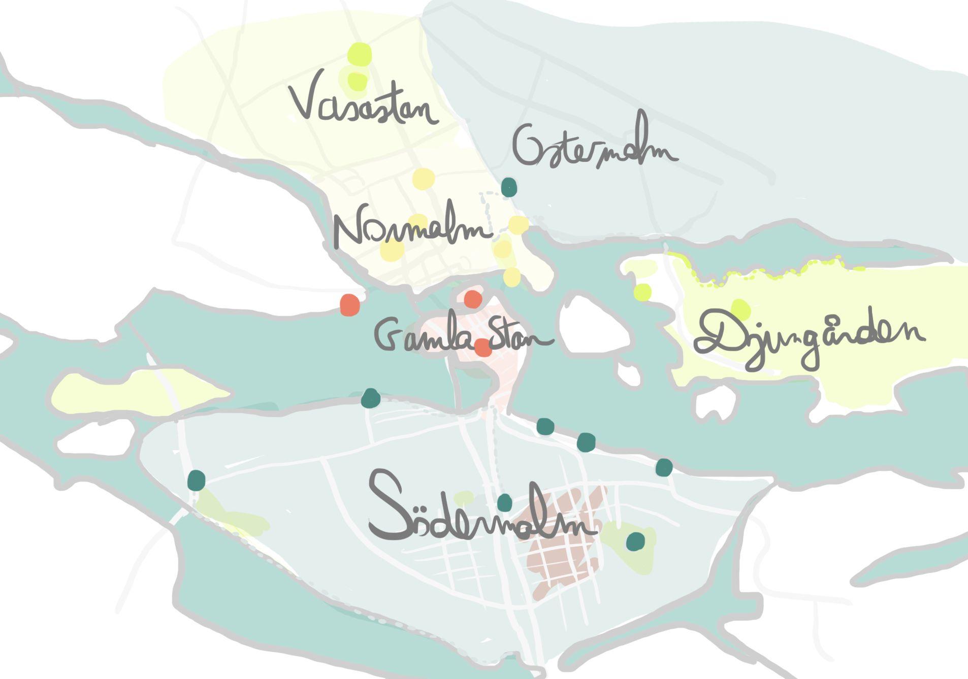 comment visiter stockholm en 4 jours  suivez nos pas entre nature  quartiers