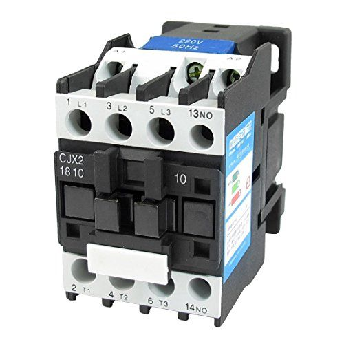 Baomain AC Contactor CJX2-1810 220V 50/60Hz 660V 32 Amp 3 ... on 3 phase 208v wiring-diagram, single phase 220v wiring-diagram, 220v to 110v wiring-diagram, 3 phase 220v wiring-diagram, three-phase 240v wiring-diagram, 220v receptacle wiring-diagram,
