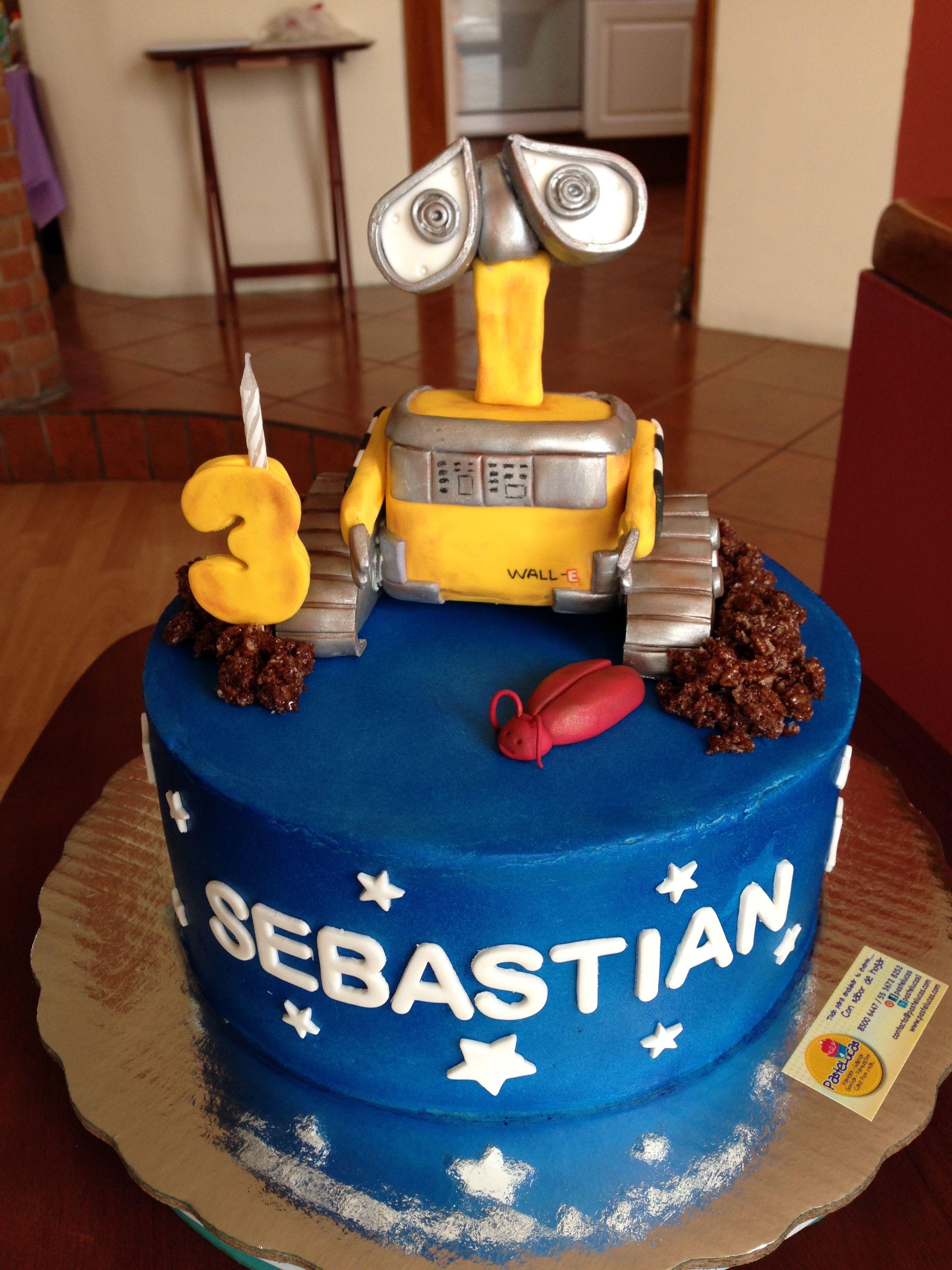 Wall E Cake Pastelucas