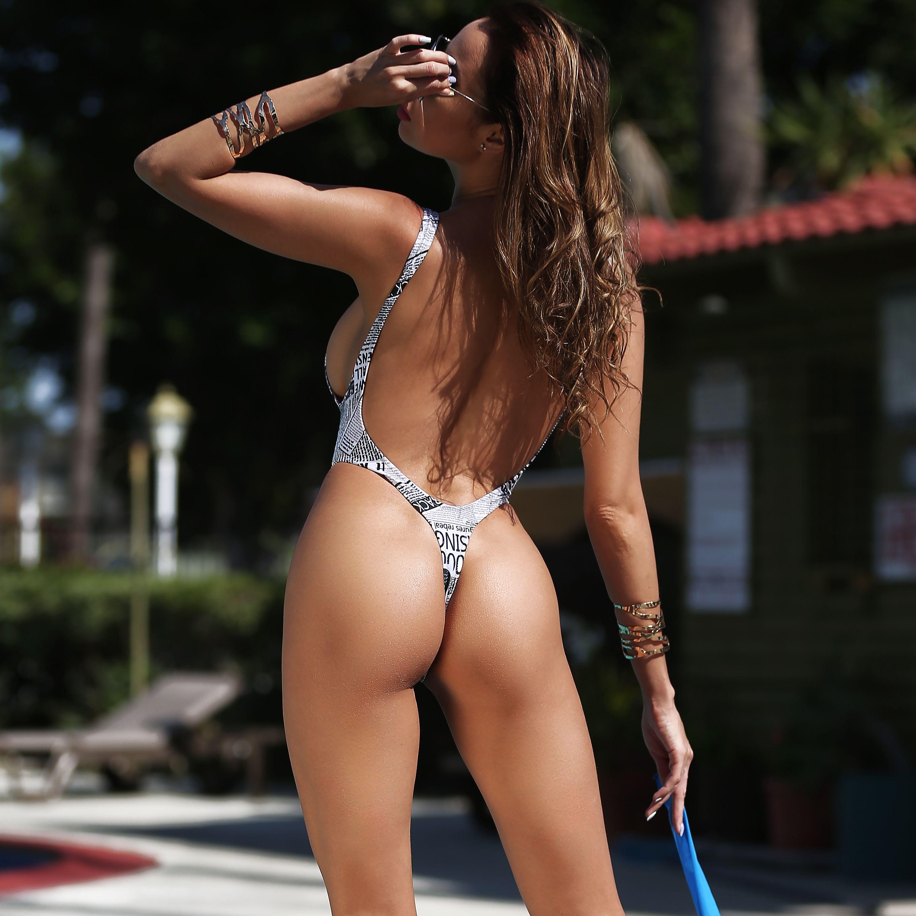 Amazing savings on sexy women brazilian cheeky bikini bottom thong bathing beach swimsuit swimwear