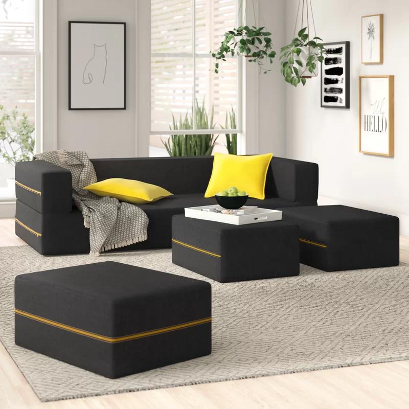 Eugene 80 Square Arm Sleeper In 2020 Furniture Sofa Home Sofa Furniture