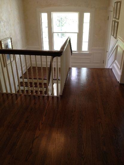 Red Oak With Medium Brown Stain Flooring Living Room Hardwood Floors Wood Floor Stain Colors