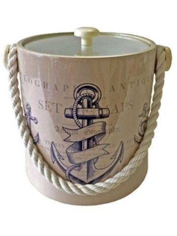 Anchor Design Ice Bucket from William - Wayne & Co.