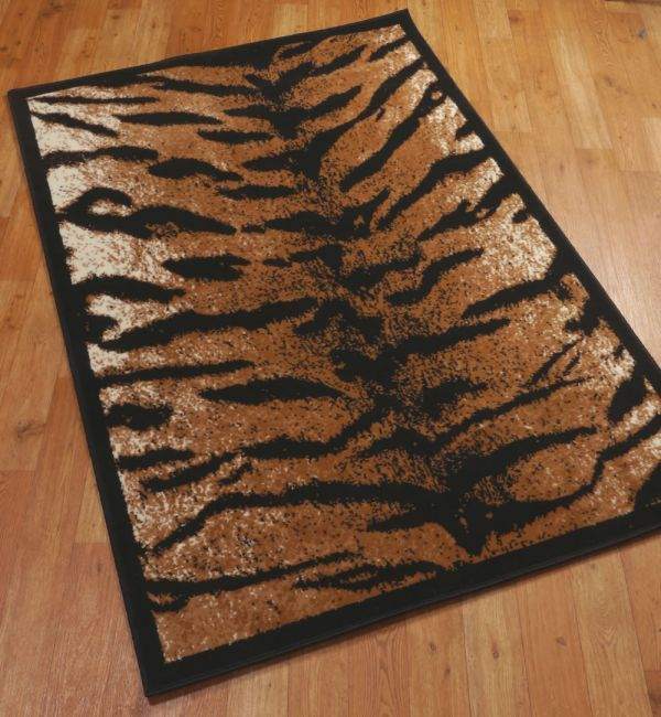 Tiger Print Throw Rug With Images