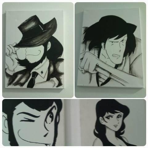 quadri personaggi Lupin