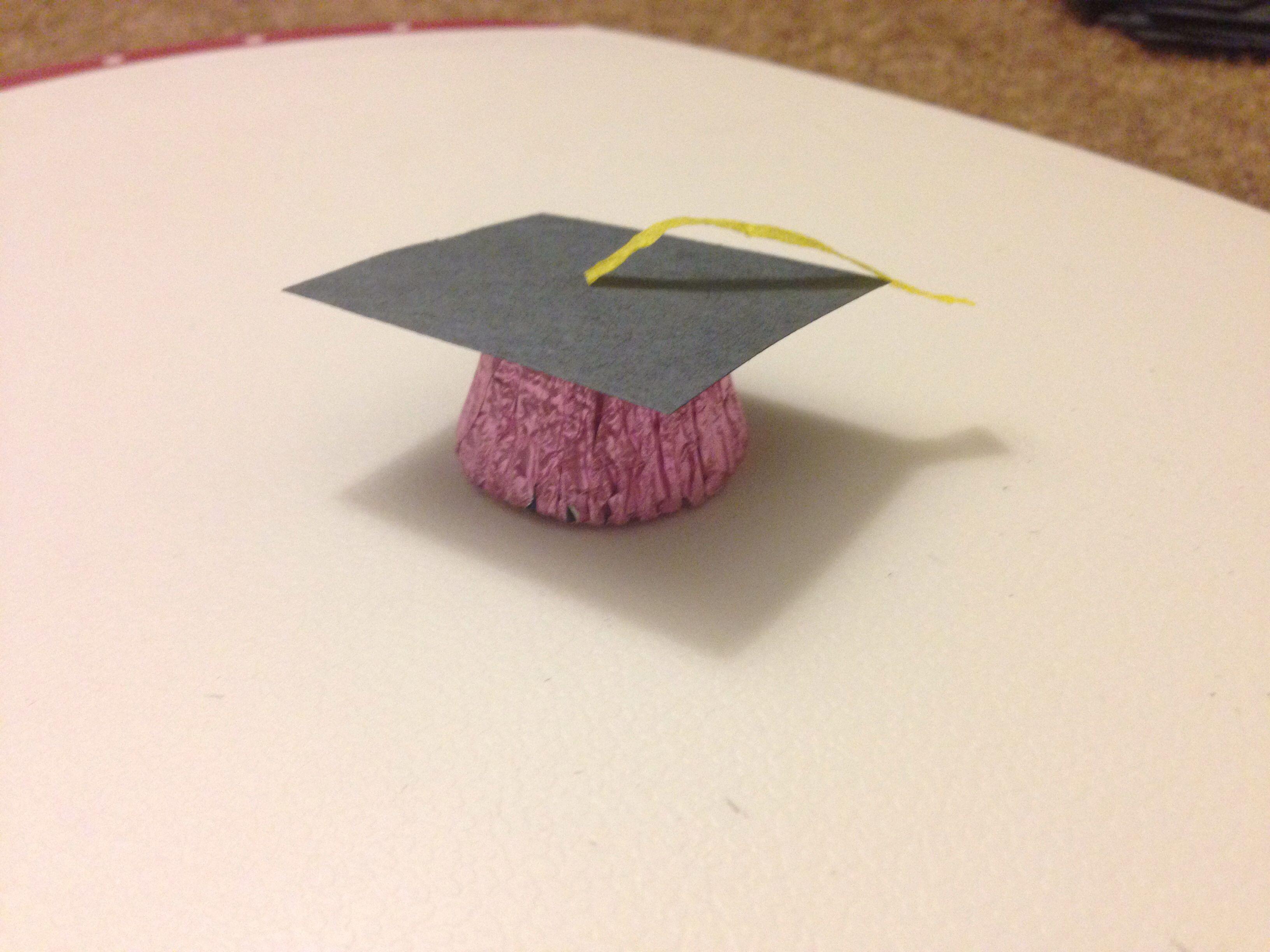 Uncategorized Paper Graduation Caps graduation caps with mini recess construction paper and crate paper