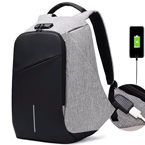 Advertisement  New BISON DENIM Mens Backpack 15.6 Inch Laptop Backpack Anti  Theft Combo Lock Travel Backpack Waterproof 14d6aea0f5e3a