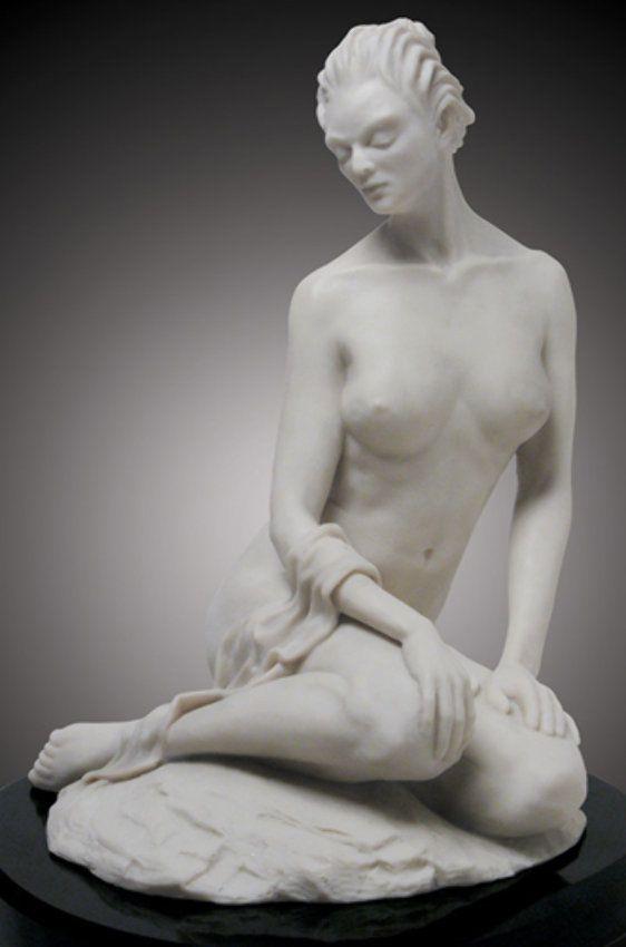 Serene I Sculpture by Leon Richman
