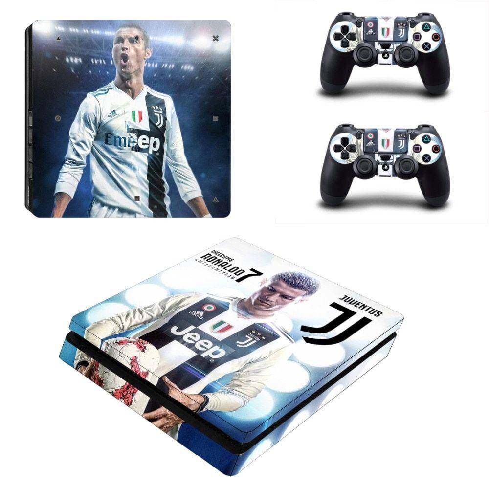 Best Price Juventus Cristiano Ronaldo PS4 Slim Pores and