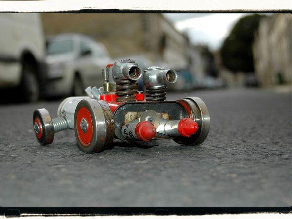 BOBO LE ROBOT  F1 V6 bi-turbo Equipe QUINOCARBINE