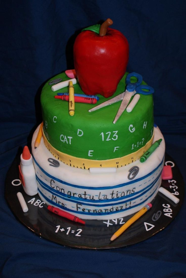 Teacher Retirement Cake Mom S Retirement Party Ideas With