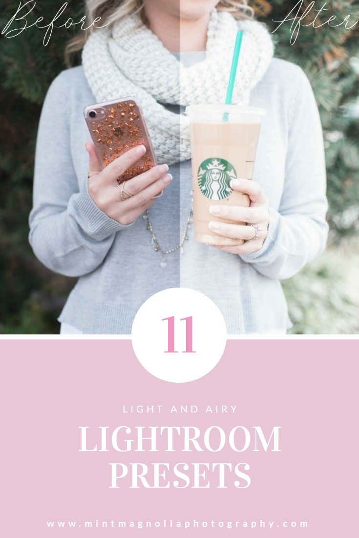 My favorite light and airy Lightroom Presets can now be