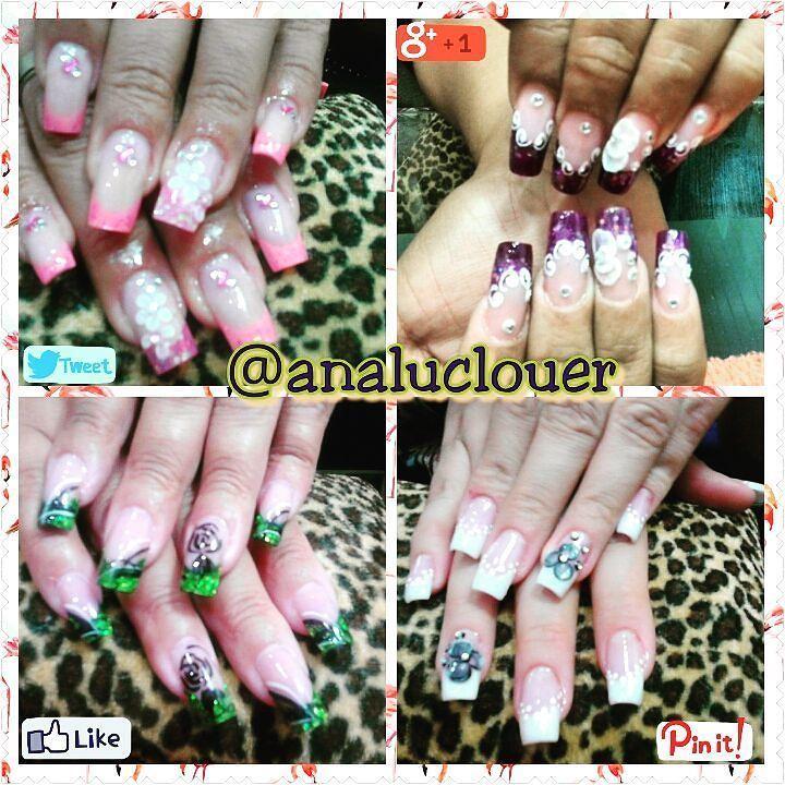 Tecnica de Reversa  #nails  #instanails  #nailart  #uñasbellas  #analuclouer  #nailsintagram
