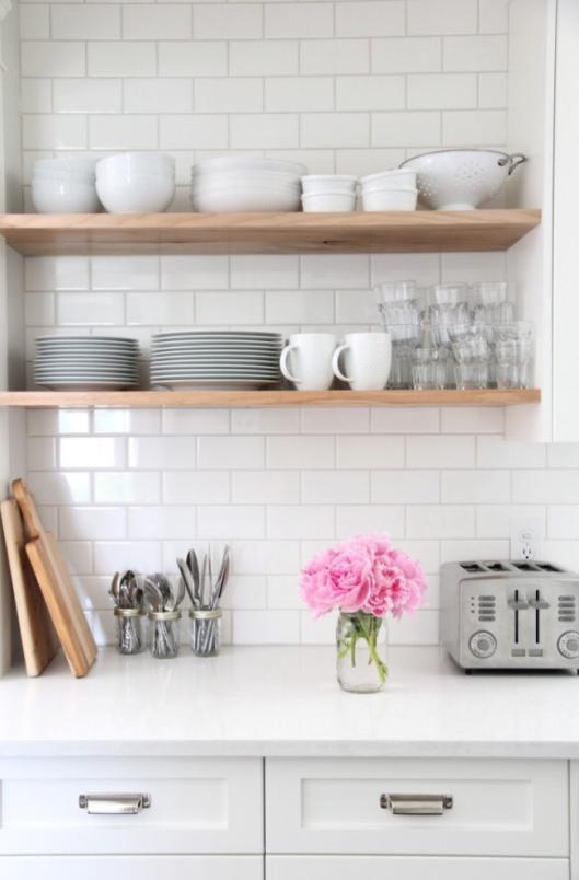 18 imágenes de cocinas sin armarios cerrados | Cocinas, Sin armario ...