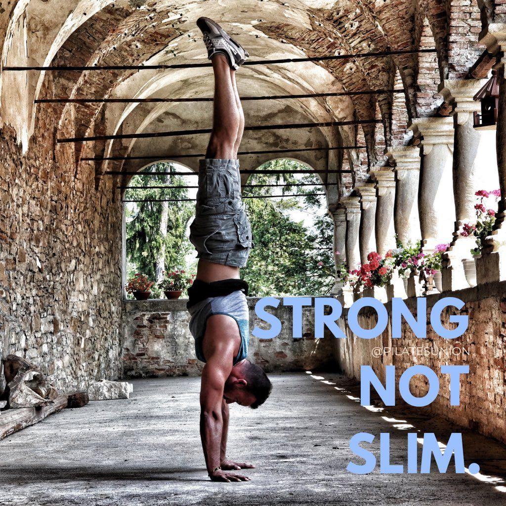 Strong, not slim 💪 Pilates