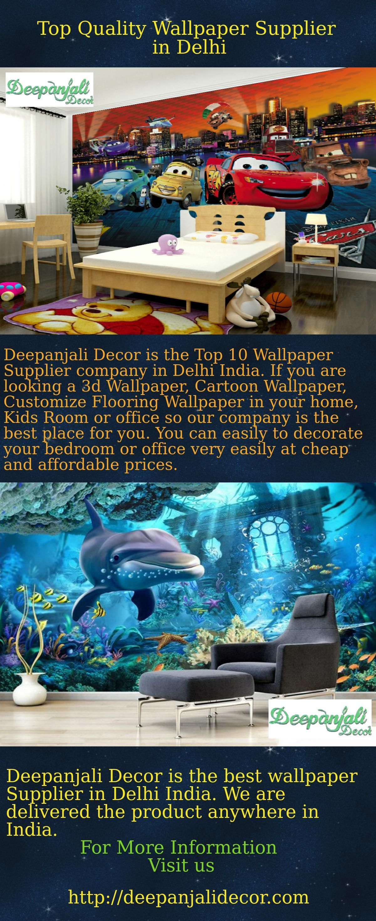 Deepanjali Decor Is The Top Quality Wallpaper Supplier In Delhi It Provides Best Designer