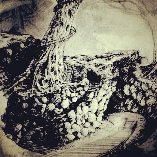 Owlcity (first phase) #art #illustration #ink #drawing http://instagram.com/p/S8oLWBGnsS/
