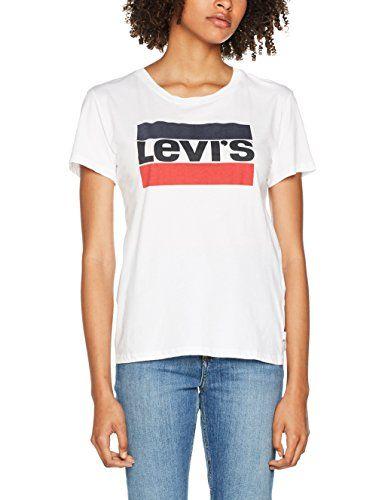 comprar popular 01a09 d25b4 Levi's Sport Graphic Tee, Camiseta para Mujer | Moda mujer ...