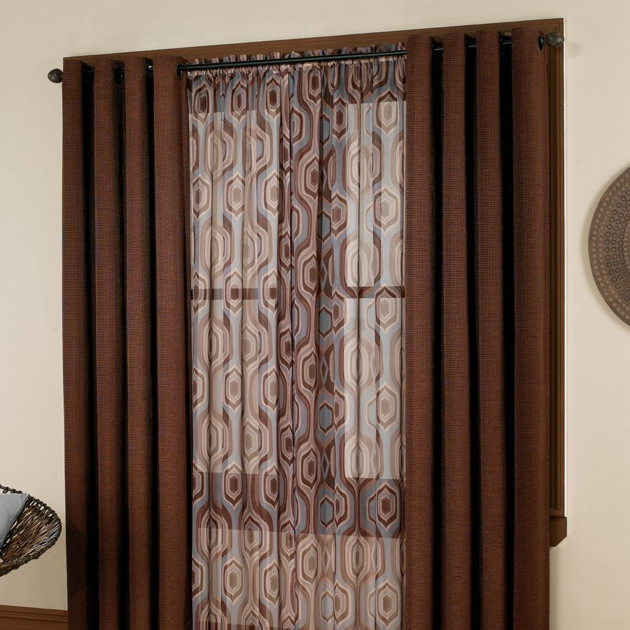 Hanging Drapes And Panels How To Hang Grommet Panel Curtain And