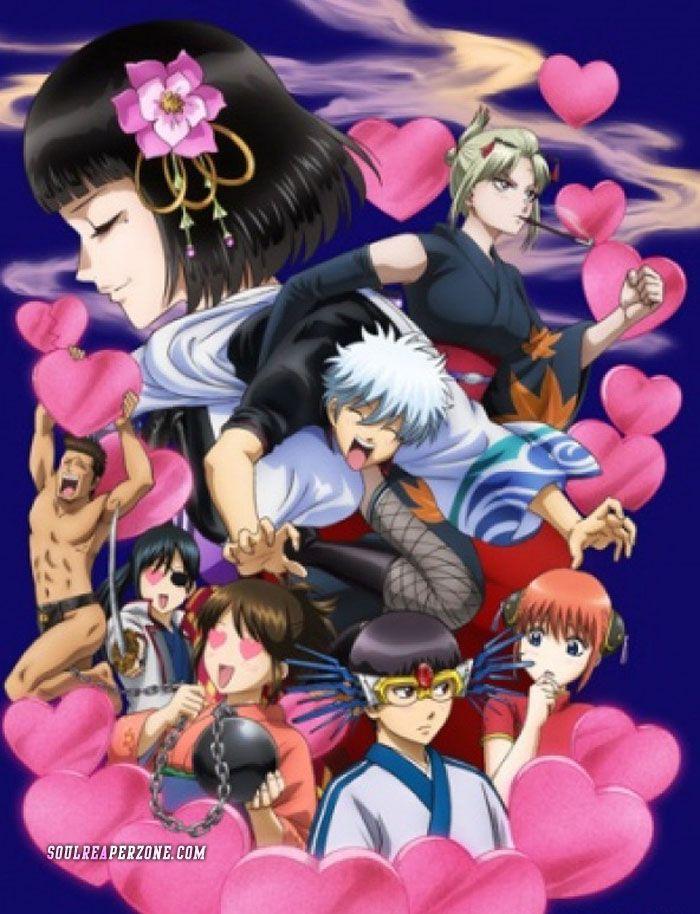 Gintama° Aizome Kaorihen DVD Anime, Anime shows, Best