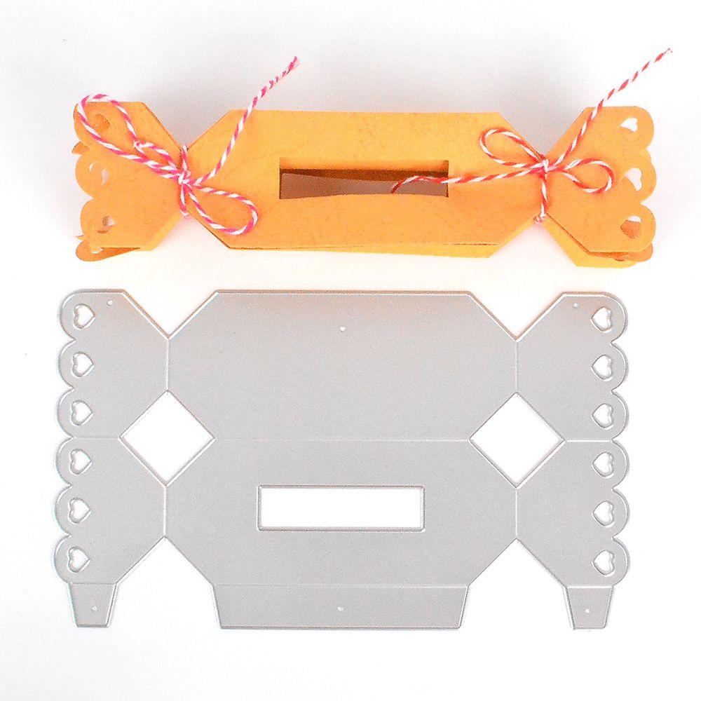 DIY Candy Box Metal Cutting Dies Stencil Scrapbook Card Paper Embossing Craft