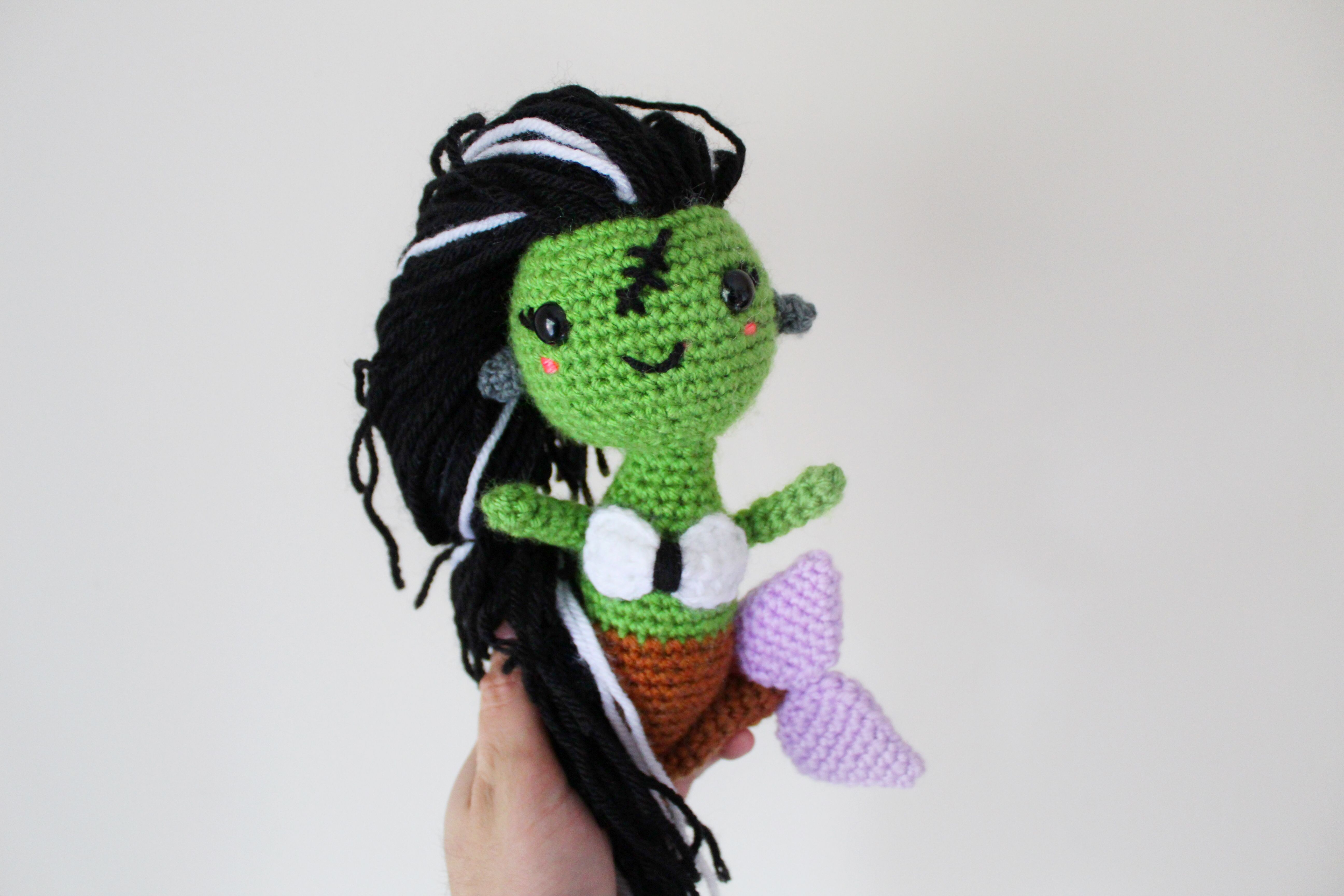 Frankie the Mermaid Furl\'s CAL | Crochet - Halloween | Pinterest
