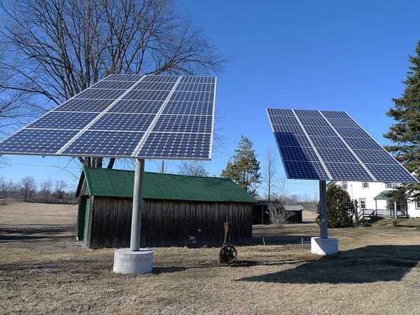 Solar power system for farm-don't waste your field, use it to make money! Minor investment, large earnings. Meikai Energy