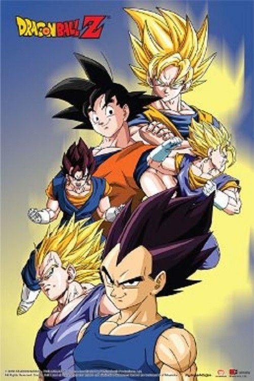 Dragon Ball Z Wall Poster Party Gift Dragon Ball Dragon Ball Z Anime