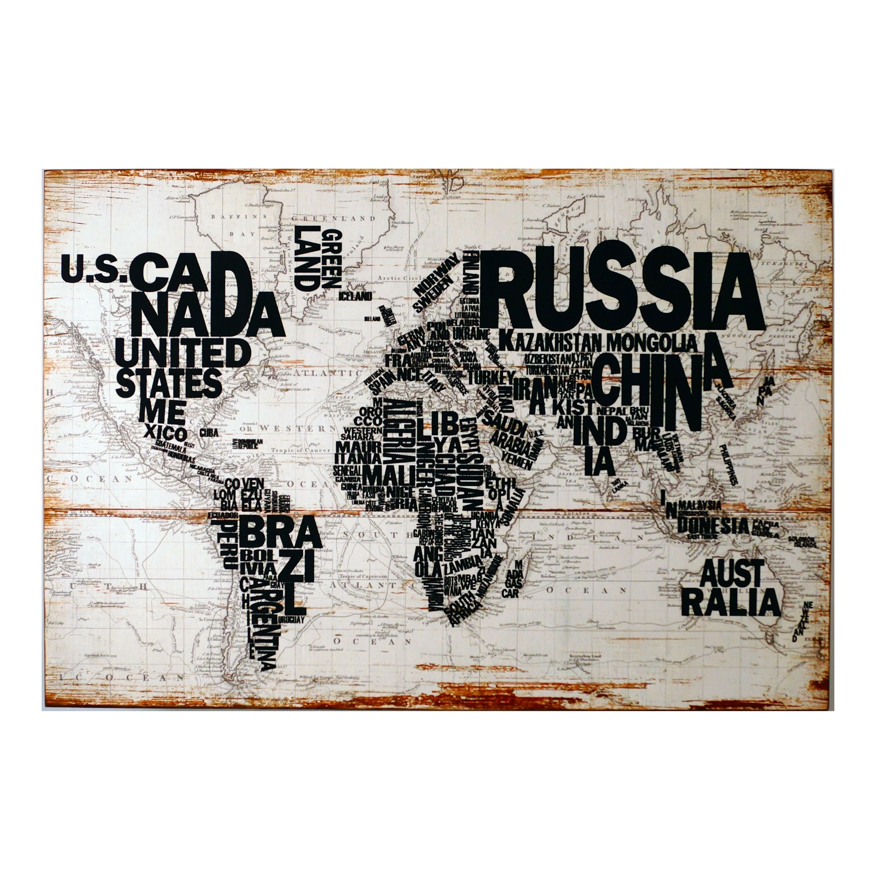 International world map wooden wall art world map wall art overstock online shopping bedding furniture electronics jewelry clothing more world map wall gumiabroncs Image collections