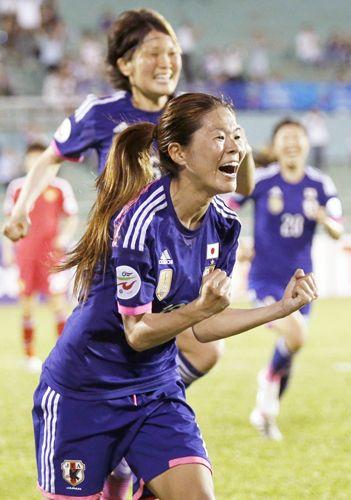 なでしこ劇的勝利で決勝!/アジア杯詳細