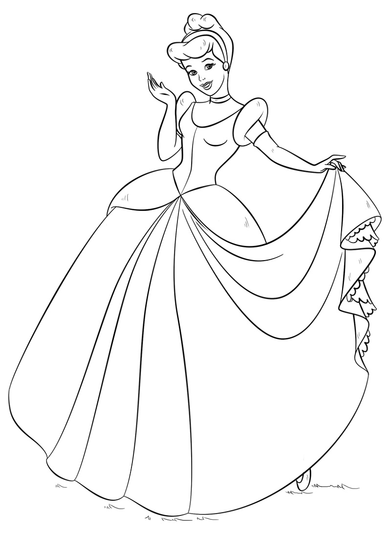 Cinderella Coloring Pages K5 Worksheets Cinderella Coloring Pages Princess Coloring Pages Barbie Coloring Pages