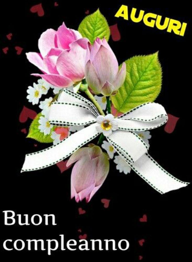 Frasi di Auguri per Buon Compleanno con i fiori (6) | Buon