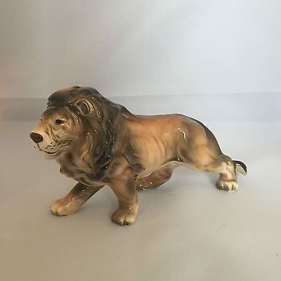 Vintage #retro 1950s 50s 1960s 60s lion animal china #pottery figurine #figure,  View more on the LINK: 	http://www.zeppy.io/product/gb/2/391666300101/