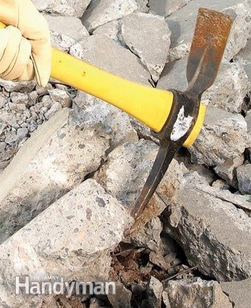 Concrete Demolition Tools And Tips Concrete Concrete Tools Concrete Diy Projects