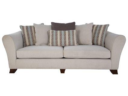 Ottava 4 Seater Pillow Back Sofa | Hot Offers Furniture | Harveys. Living  Room ...