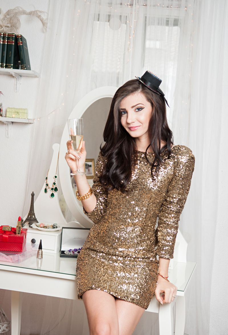 Be beautiful in balletinspired fashion sequins teen fashion and gold