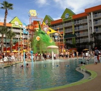 10 Best Family Friendly Hotel Pools In The World Nickelodeon Orlando Florida