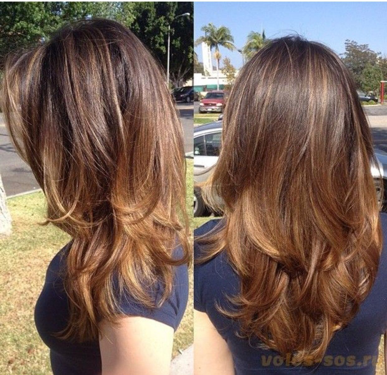 70 brightest medium layered haircuts to light you up thicker long layered hair cut on medium hair urmus Images