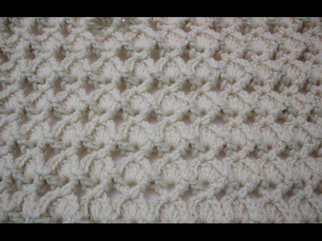 How to Crochet Rosa\'s Marshmallow Shell Stitch | Crochet | Pinterest