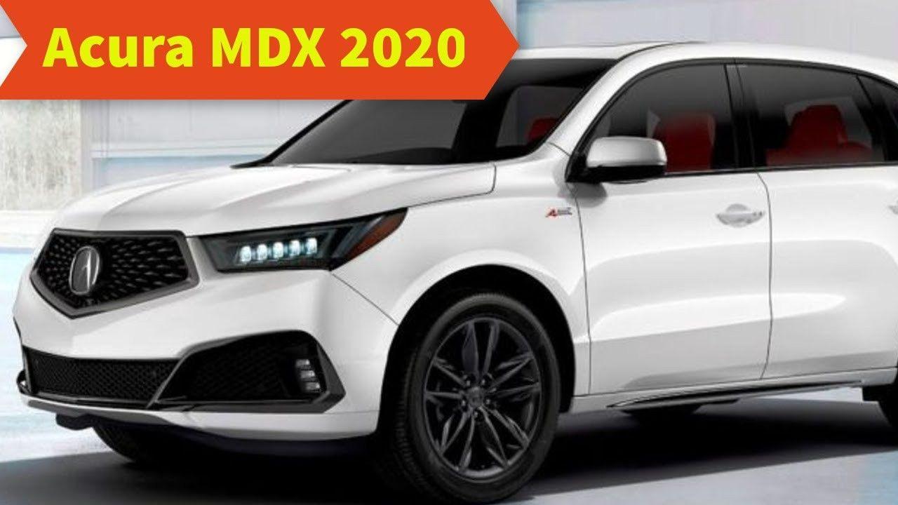 Acura Mdx 2020 Redesign Specs di 2020