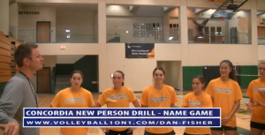 The Volleyball Name Game  As all coaches know team chemistry is