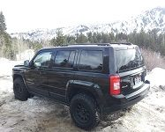 Tire Wheel Combo W Rro Lift Jeep Patriot Forums Lifted Jeep