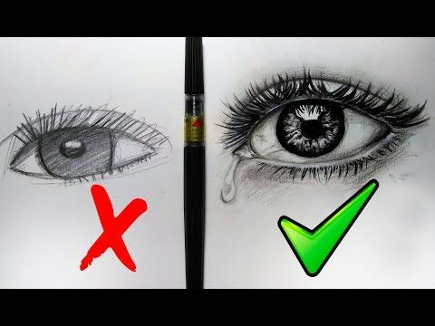C mo dibujar un ojo realista paso a paso con l pices de for Como pintar un ojo