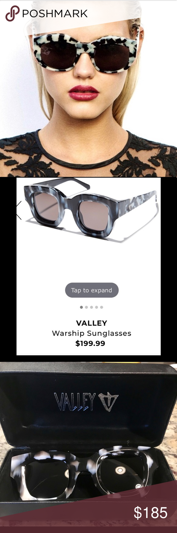1e8ac194c17 New Valley Sunglasses Wore once Valley Eyewear Accessories Sunglasses